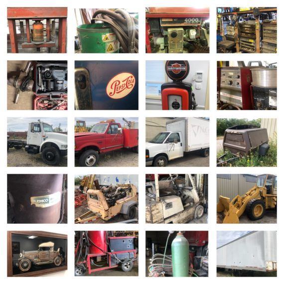 Online-Only DJM Truck Service Retirement Auction