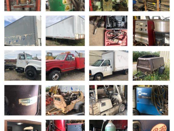 Online-Only DJM Truck Service Retirement Auction
