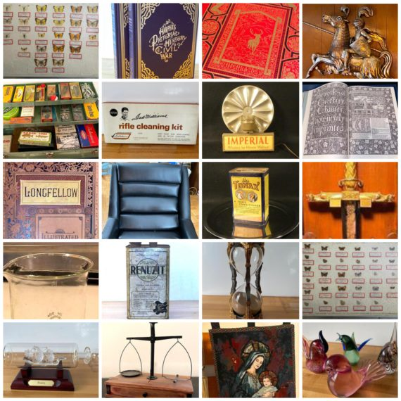Online-Only High End Antiques/Literary Genius Auction-N. Olmsted