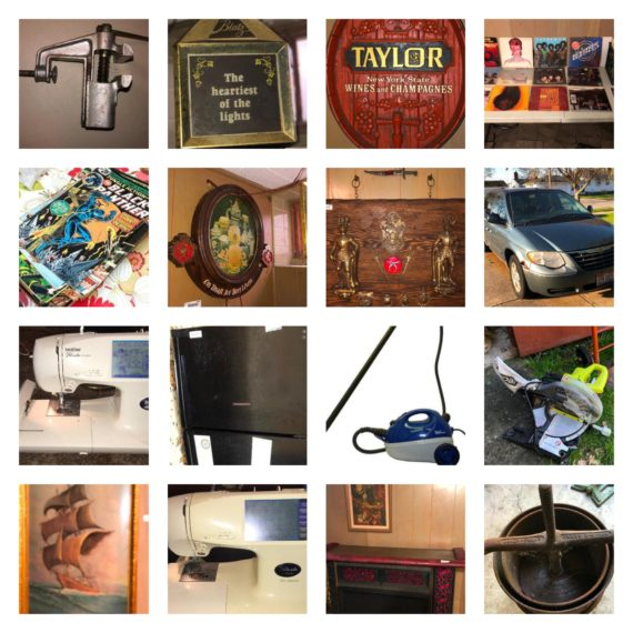 Online Only Household Auction, 200+/- Sewing Machines, Chrysler Mini Van & More-Mayfield Hts