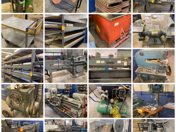 Online Only Imperial Metal Spinning Inc/Industrial Machinery Retirement Auction-Valley View