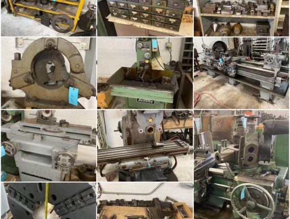 Online-Only Industrial Machine Shop Auction-Cleveland