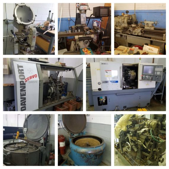 Online Only Industrial Machinery Auction-Mentor