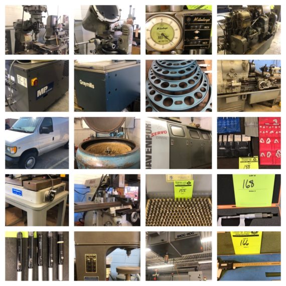 Online Only Industrial Machinery/Testing Equip Auction-Mentor