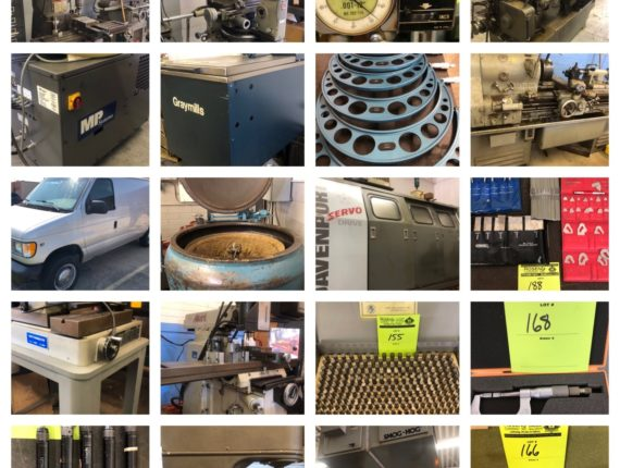 Online-Only Industrial Machinery/Testing Equip Auction-Mentor