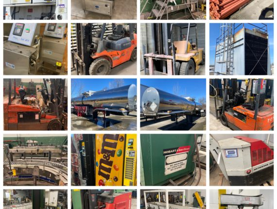 Online-Only Industrial Machinery/Trucks/Trailers & Equipment Auction-Cleveland