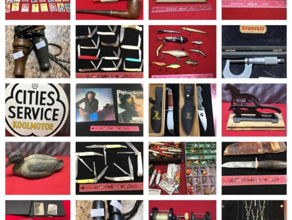 Online-Only Lifetime Collection #1, 250+ Knives, Hunting/Fishing & More!