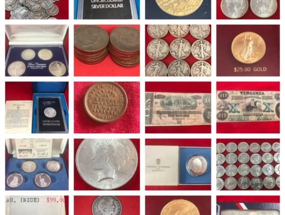 Online-Only Lifetime Collection Gold, Silver, Platinum Coins, Bullion & More Auction