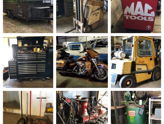 Online-Only Machinery/Equipment, Antiques, Motorcycle Parts Auction-Richfield
