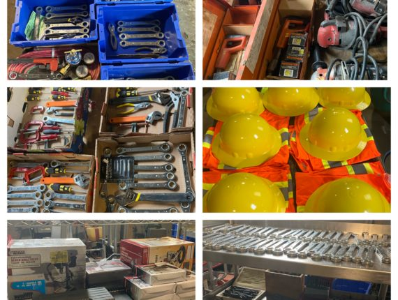 Online-Only Massive Safety Equipment Auction