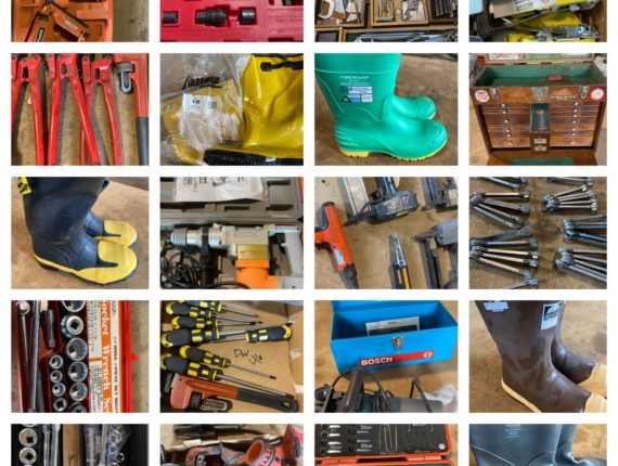 Online-Only Massive Safety Equipment & Small Tool Auction