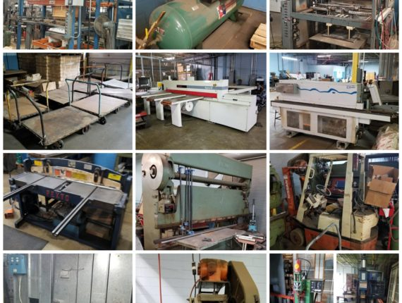 Online-Only Metal Fab, Woodworking, Plastic Machinery/ Automated Paint Line Auction-Massillon