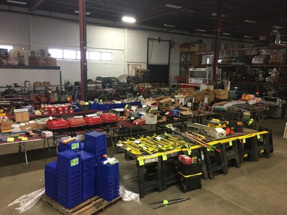 Over 500 Lots! Online-Only New/Used Tools, Retail & Contractor Supply Auction