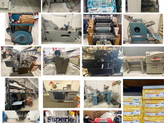 Online Only Print Shop Auction-Warrensville Hts