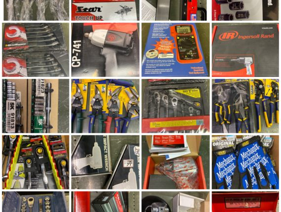 Online-Only Retirement/New Tools Christmas Auction-Valley View