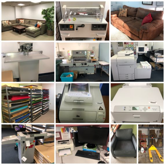 Online-Only Specialty Cards Print/Design Shop/Machinery Auction-Beachwood