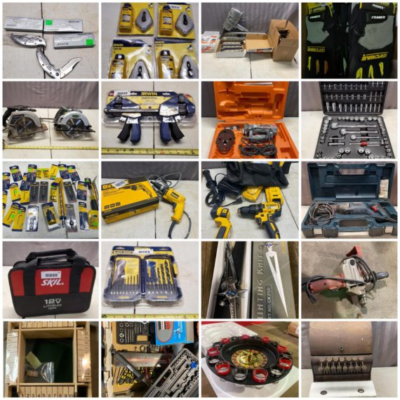 Online-Only Spring Shop Cleanout Auction-Cleveland