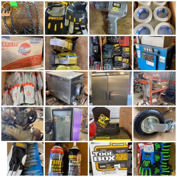 """Online-Only """"The Shop"""" Monthly Cleanout Auction-Cleveland"""
