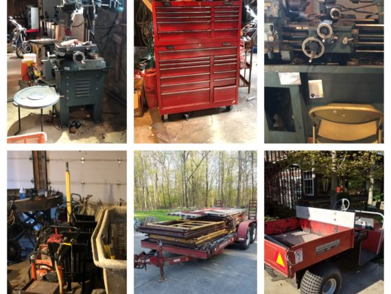 Online-Only Tools & Equipment Auction