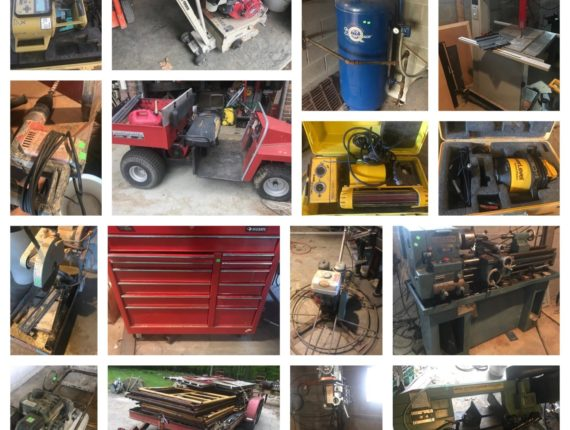 Absolute Online-Only Tools & Equipment Auction-N.Royalton