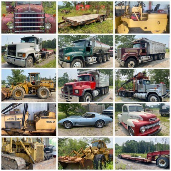 TBA Online-Only Trucking & Excavating Auction-Austinburg