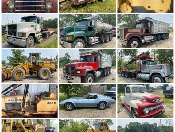 Online-Only Trucking & Excavating Auction-Austinburg