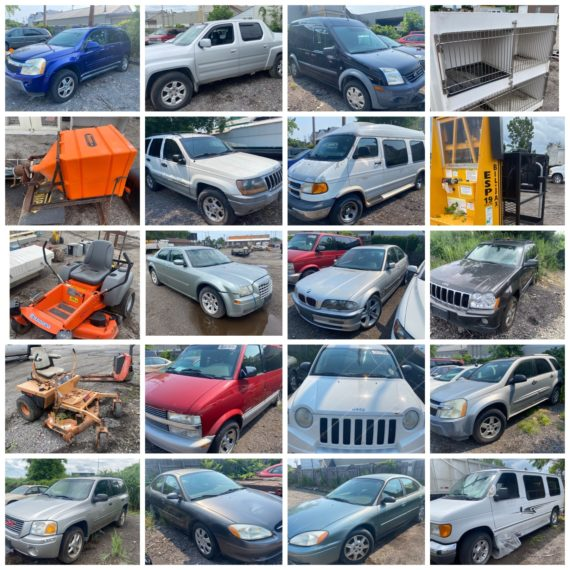 Online-Only Vehicle & Auction Yard Cleanout Auction-Cleveland