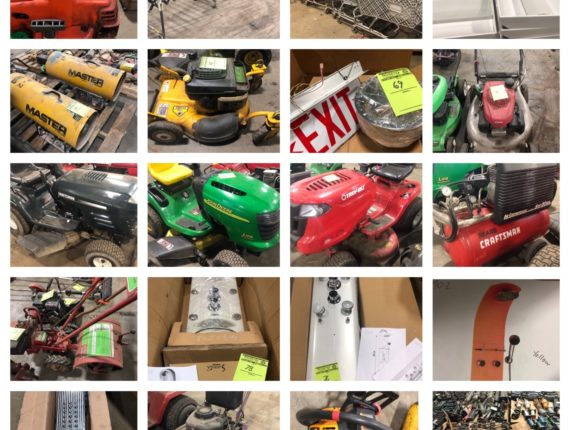 Online Only Warehouse/Sale-Yard Moving Auction