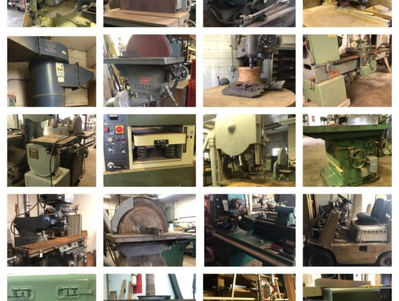 Online-Only Woodworking Shop Equipment Auction-Elyria