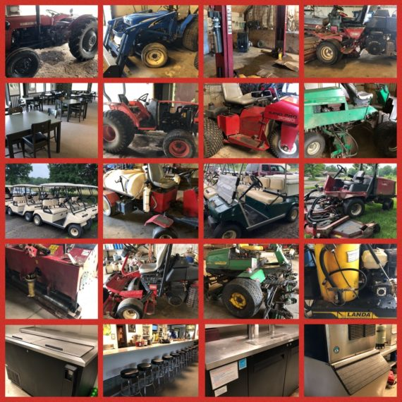 Public Golf Course Liquidation Auction
