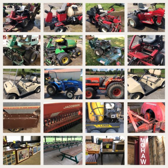 Absolute Golf Course Equipment Liquidation Auction