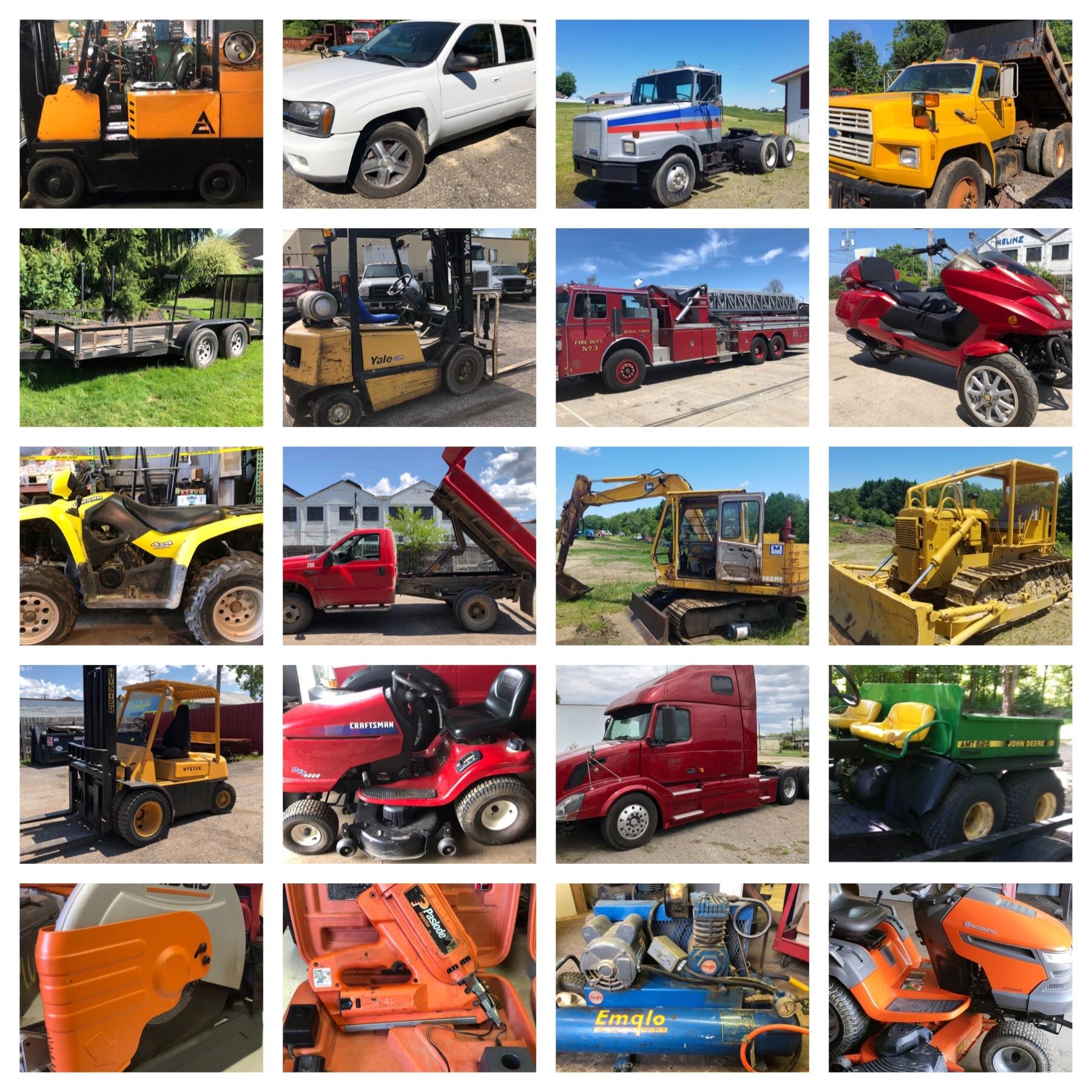 Quarterly Equipment/Machinery… | Buddy Barton Auctioneer