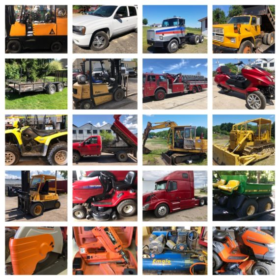 Quarterly Equipment/Machinery Auction-Cleveland