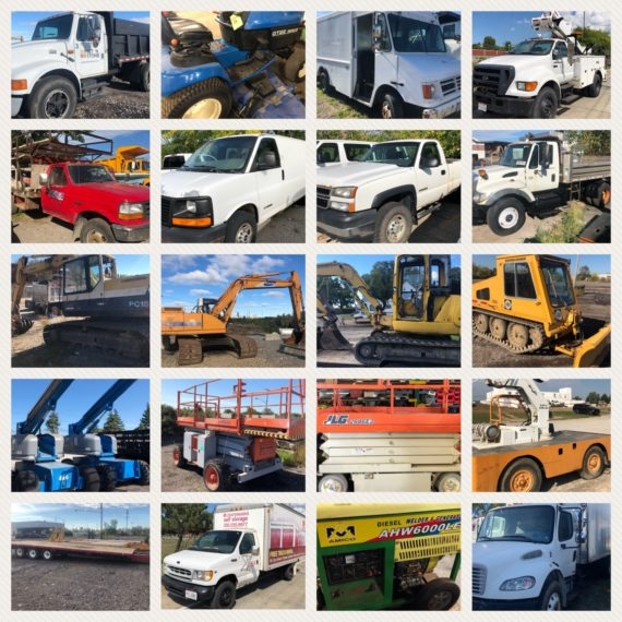 Quarterly Machinery/Equipment Auction