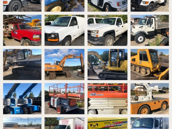 Quarterly Machinery/Equipment Auction