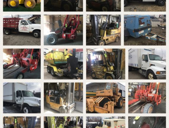 Live/Online Quarterly Winter Machinery/Equipment Auction