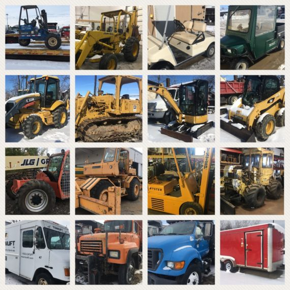 Live/Online Quarterly Spring Equipment, Machinery & 11th Annual Cuyahoga County Lawn/Garden  Auction