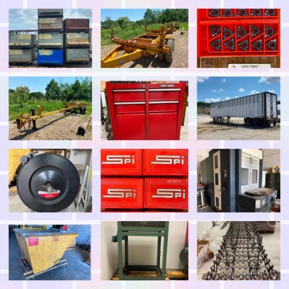 Online-Only Milling & Telecommunications Equipment Auction-Valley View