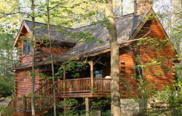 Accommodations romantic getaways in ohio 39 s amish country for Cabins amish country ohio