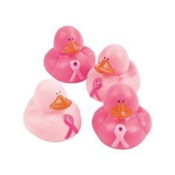 Pink Rubber Ducks
