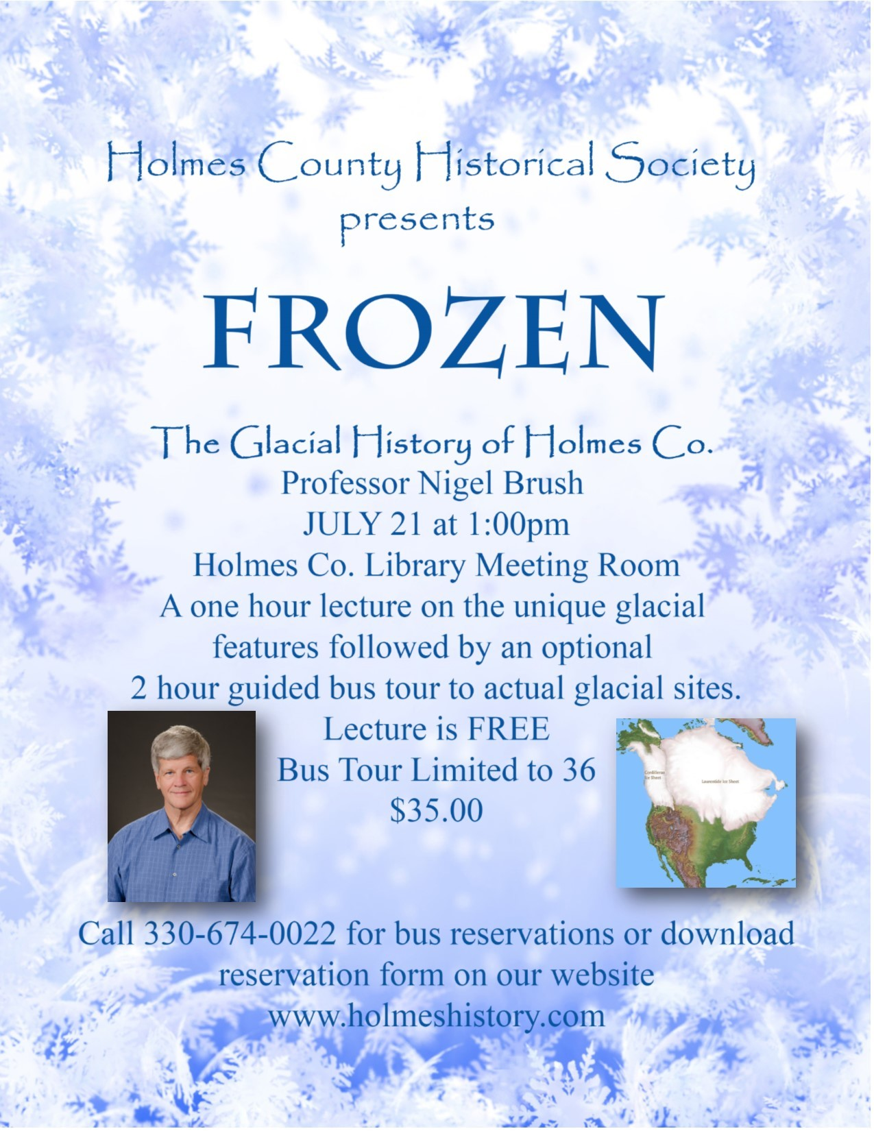 FROZEN - Th Glacial History of Holmes County