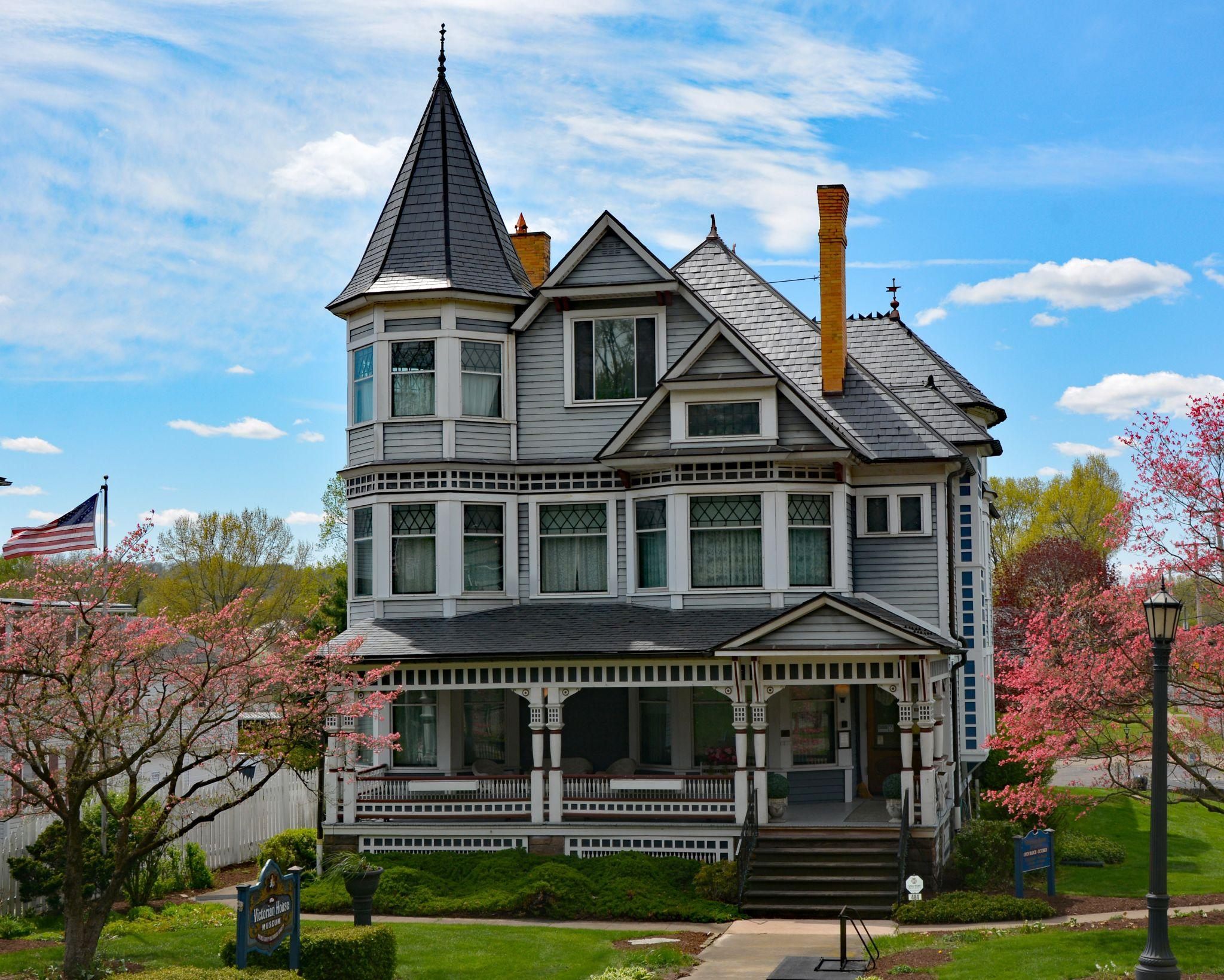 FULL SEASONAL HOURS BEGIN VICTORIAN HOUSE MUSEUM and MILLERSBURG GLASS MUSEUM