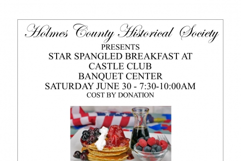 STAR SPANGLED BREAKFAST AT THE CASTLE CLUB