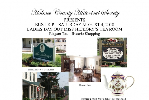 LADIES DAY OUT - MISS HICKORY'S TEA TOUR