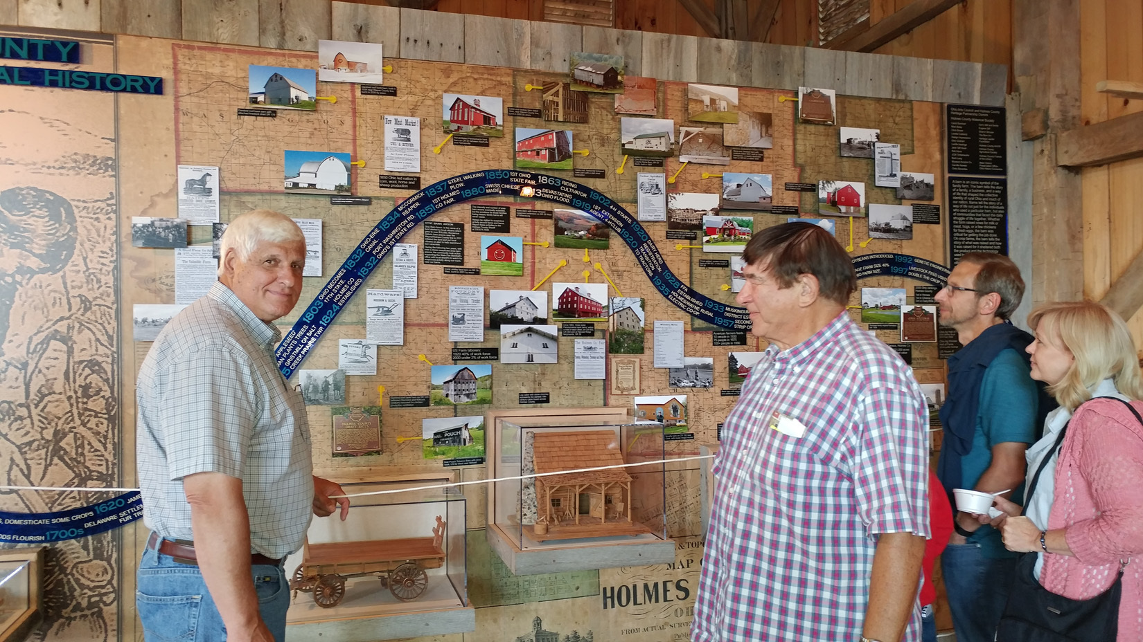 Rep. Bob Gibbs Visits New Ag History Display