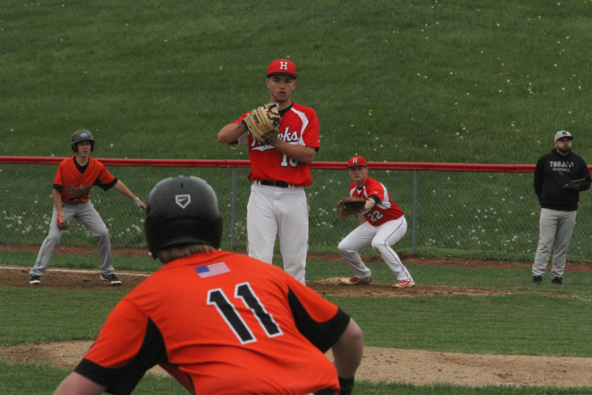 Hiland rides Miller's one-hitter to down Trojans