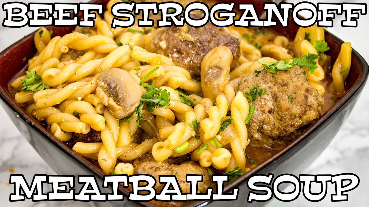 Beef Stroganoff Meatballs