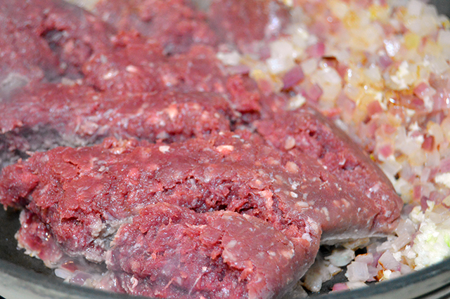 how to cook bison ground meat