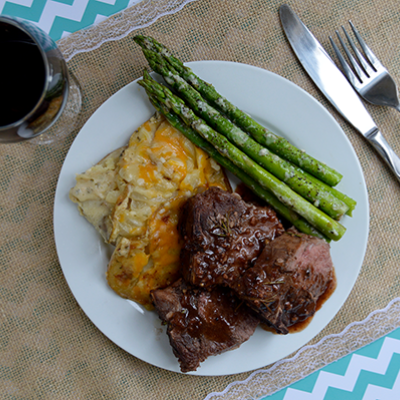 Braised Lamb in Figgy Red Wine Sauce | Easter Recipes ...
