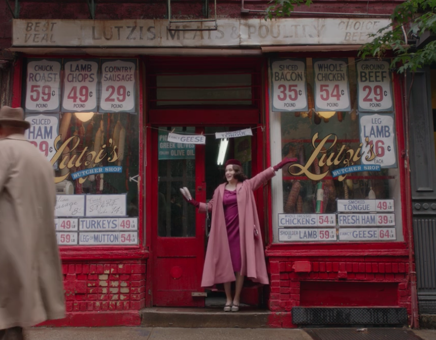 The Marvelous Mrs. Maisel, Episode 1
